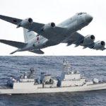 公開映像が裏付けか?韓国軍艦艇からレーダー照射されたP1哨戒機