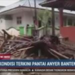 津波の原因はクラカタウ火山の噴火、インドネシアのスンダ海峡で