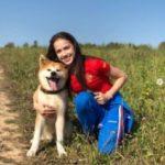 ザギトワの可愛い愛犬マサルは秋田犬、ロシアでも大人気、来日実現?